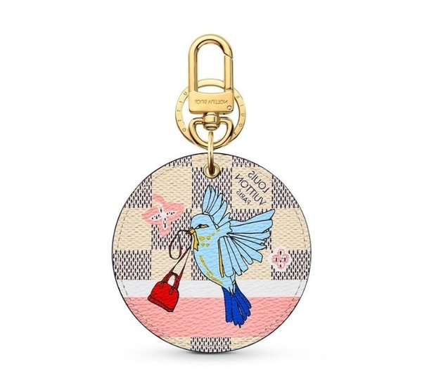 Xmas M63751 New Animals Animal Bag And Keychain Key Holders And More Leather Bracelets Chromatic Bag Charm And Key Holder Scarves Belts
