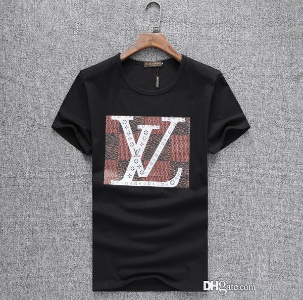 Apparel Europe and the United States the world's high-quality printing is very perfect head There Medusa label Men's T-Shirts Asia