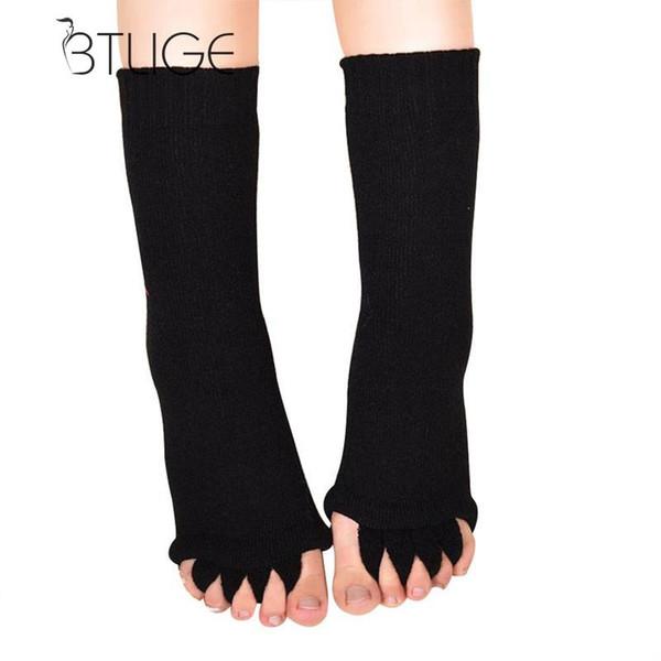BTLIGE Toe Chaussettes Chaussettes Pédicure pour Pédicure Pieds Pieds Soins Ecrémeuses Separator Finger Massager Bunion séparateur pour les talons