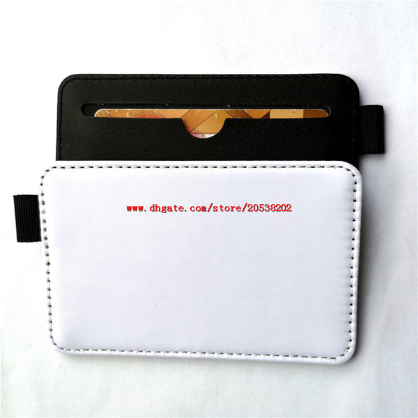 sublimation blank card holders bag case cover for bus or bank card hot transfer printing materials consumables factory price