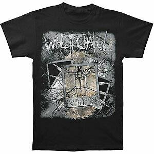 Whitechapel Men 039 s Agony Is Bliss Broken Glass T shirt BlaUnisex