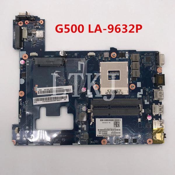 De haute qualité pour ordinateur portable G500 carte mère VIWGP / GR LA-9632P PGA989 HM70 100% complet Testée