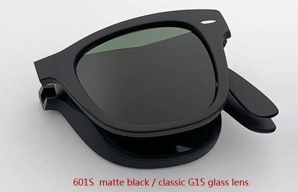 601S ماتي أسود / أخضر كلاسيكي G15