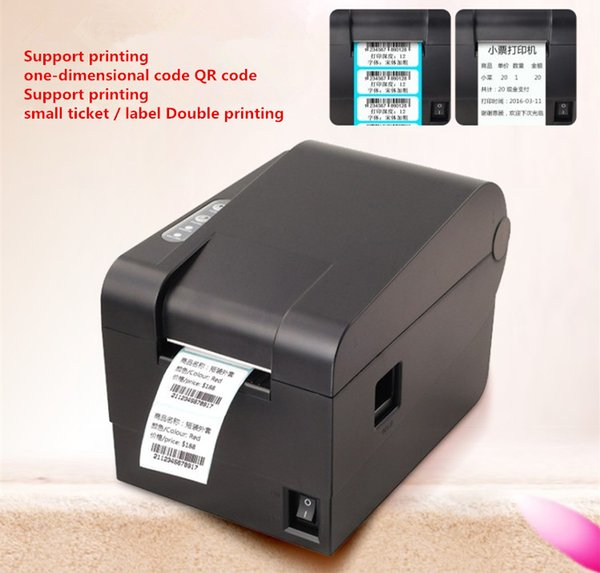 Factory outlets Barcode label printers Thermal clothing label printer Support 58mm printing Paper/label printing doubles