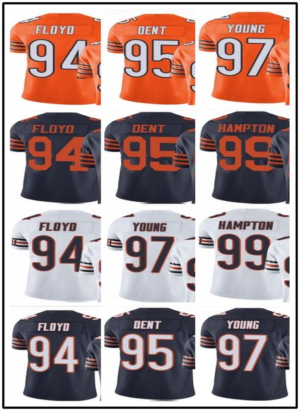 separation shoes c6a3e 2c3c7 2019 Custom Chicago Bears Jerseys#94 Leonard Floyd 95 Richard Dent 97  Willie Young 99 Dan Hampton#YOUTH#Men'S Limited Rugby Jerseys From  Gjybest002, ...