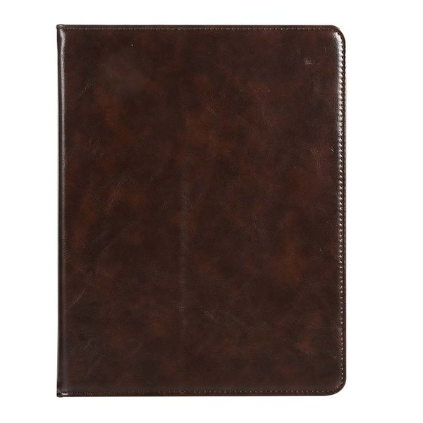 Luxury Half Genuine Leather Tablet Case For ipad pro 10.5 pro 9.7 with Built-in Pen Slot PU Tablet Shell Cover Case