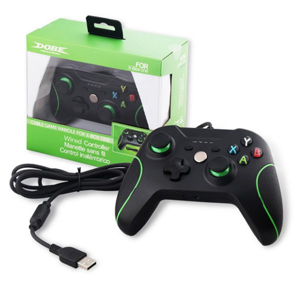 Hot sale Wire Gamepad Game Controller Joystick for XBOX ONE and PC USB Wired Controller Gamepad with Dual Vibration Joypad free shipping