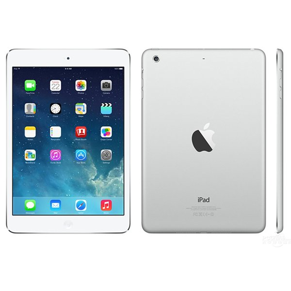 best selling Refurbished iPad mini 2 Apple Unlocked Wifi 16G 32G 64G 128GB 7.9 inch Retina Display IOS A7 Tablet Original Apple DHL
