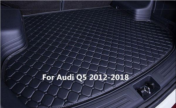 Car Rear Cargo Boot Trunk liner Mat Pad for Audi Q5 2012-2018
