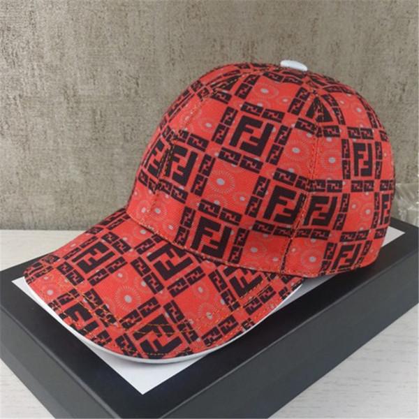 Carta de diseño de moda F Gorras de bolas Adultos de lujo Hip Hop Sombreros marrones con caja Hombres Mujeres Sombrero de sombrilla cómodo para los amantes