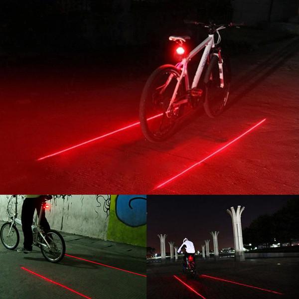 MTB Road Bicycle Laser Tail Light Signal Warning Rear Lamp Waterproof Light Lamp
