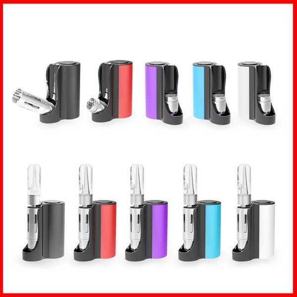 Подлинные стартовые наборы Vapmod Pipe 710 Mod 900mAh Аккумулятор Vape Box Мод Ecig с 0.5 мл Керамическая катушка для картриджа Танк Комплект 100% Аутентичные