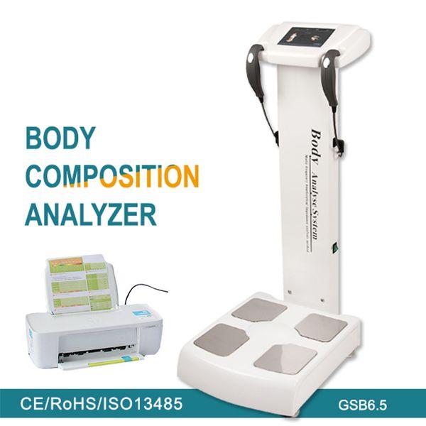 New Arrive !!! Professional Full Body Fat Analyzer/Body Scanner Analyzer/Body Composition Analyzer Machine Free Shipping