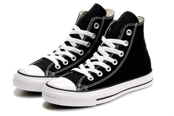 DORP SHIPPING NEW size35-46 New Unisex Low-Top & High-Top Adult Women's Men's Canvas Shoes 15 colors Laced Up Casual Shoes Sneaker shoes