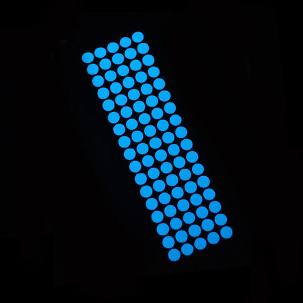85pcs dots blue