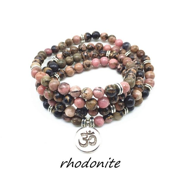 Atural Pedra Beads Charm Bracelets Yoga Colares Elastic Lotus Buddha Para As Mulheres Menina Drop Shipping Pedra Natural Beads Charm Bracelets Y ...