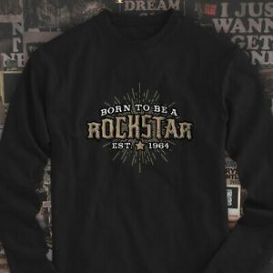 RoRockstar RoRock and Roll Band Guitar Drummer RoRocker Hombres BlaRock Long SRoRockve Camiseta