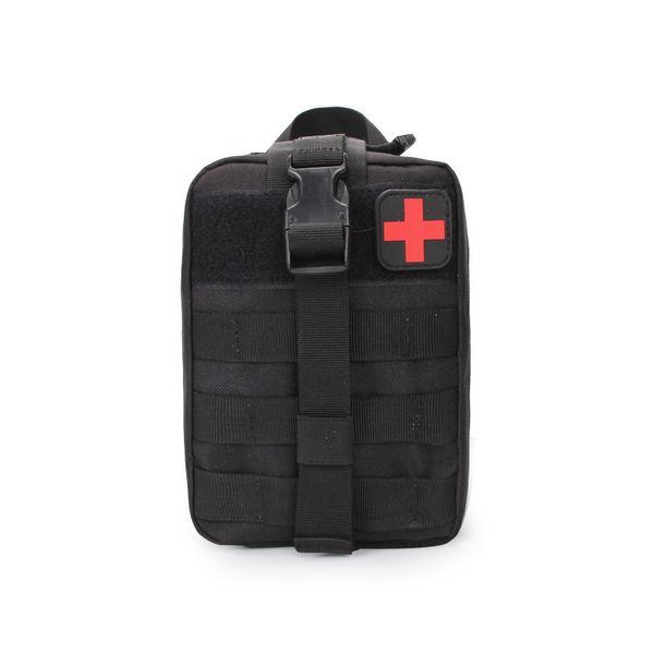 Kit de primeros auxilios táctico multifuncional médico al aire libre paquetes IFAK bolsa de emergencia bolsa de utilidad para el chaleco cinturón de tratamiento paquete de la cintura EMT