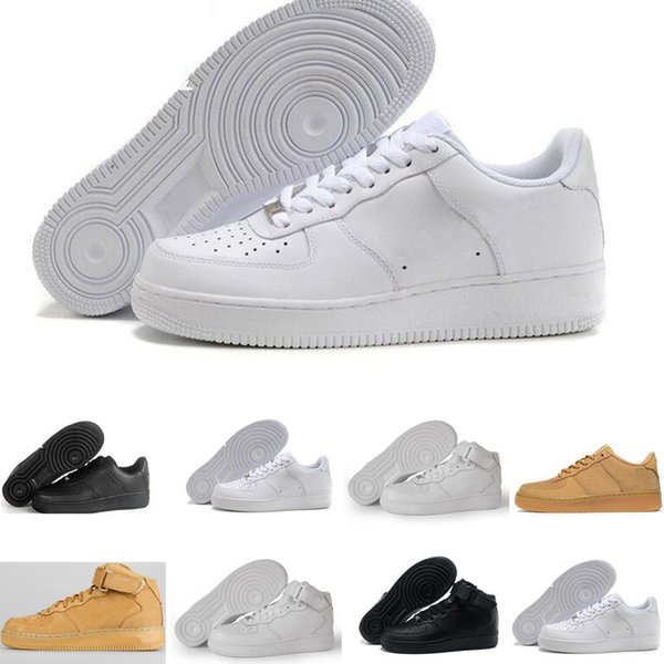 detailed look e2a80 43db2 nike air force 1 one Descuento de marca One 1 Dunk Hombres Mujeres Flyline  Zapatos para
