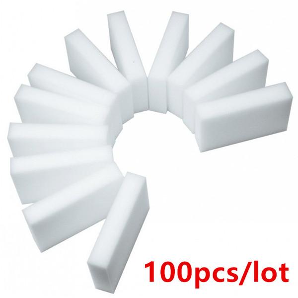 100pcs Esponja Mágica Esponja De Limpeza De Melamina Nano Eraser Esponja 10x6x2cm