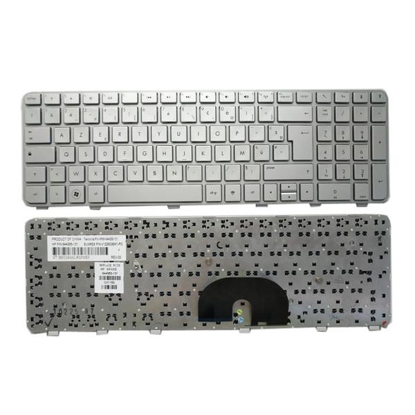 Tastiera del computer portatile per HP Pavilion DV6 DV6T DV6-6000 DV6-6100 DV6-6200 DV6-6b00 dv6-6c00 Nero Argento Testato Nuovo