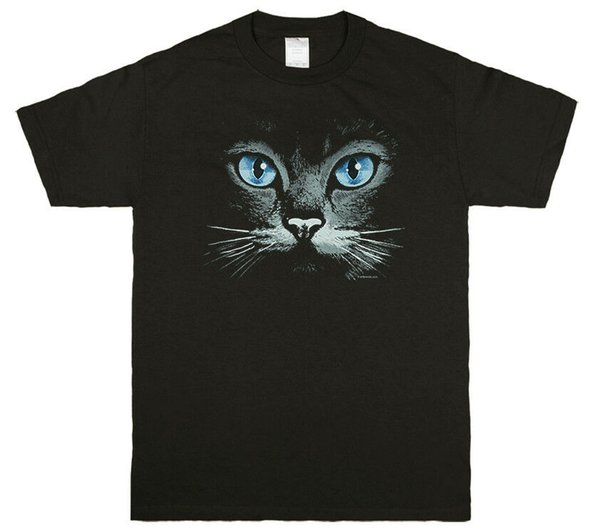 Kitty Face Cat Graphic T-shirt Tee Funny free shipping Unisex Tshirt