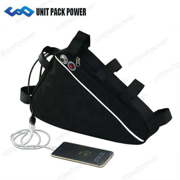 UPP heiße verkaufende 48V 20Ah Dreieckart Efahrradbatterie mit Batterie des USB-Anschlusses 48V für 750W 500W Motor