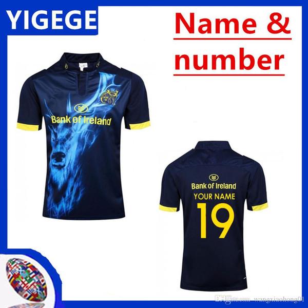 Maglia MUNSTER 2017 ALTERNATE JERSEY munster in casa 2018/2019 Maglietta Muenster City Super Rugby Jerseys League taglia S-3XL (può stampare)