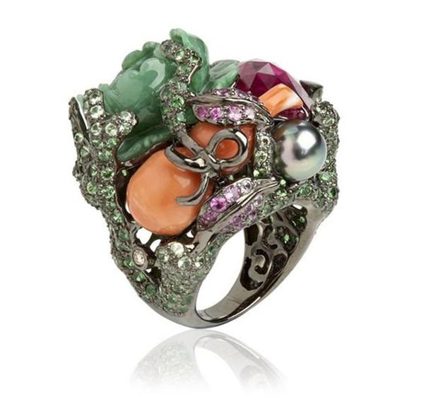 Оптовый производитель дешевые кольца мужчины мода любителей ногтей подарок микс фестиваль дизайнер ювелирных изделий сталь стерлингового серебра белая звезда