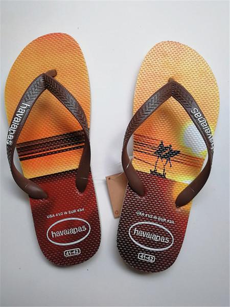 Zapatos de playa para hombres Moda 3D Imprimir Vacaciones al aire libre Viajes Chanclas Sandalias Casual Dormitorio interior Baño Zapatilla