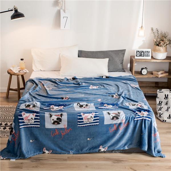 Decorazioni Invernali Per La Casa.Acquista Brand Animal Cartoon Fleece Throw Blanket Bambini