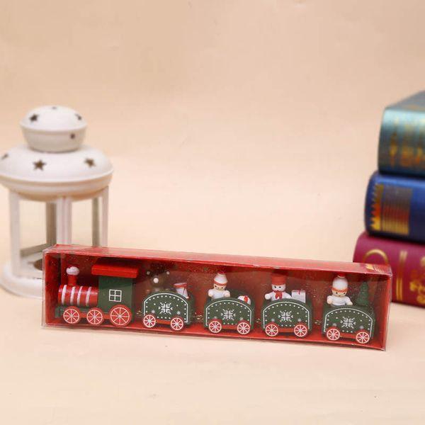 5 Segments Train-Green