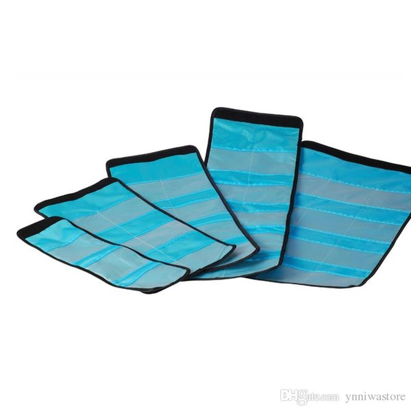 10pcs/lot 3 4 6 slots Case Holder Case Pouch Wallet for 25mm to 82mm Camera Filter UV CPL New