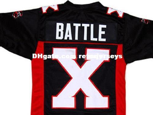 MEAN MACHINE - LONGEST YARD JERSEY BATTLE X BILL GOLDBERG NEW XS - 5XL Cheap football Jerseys