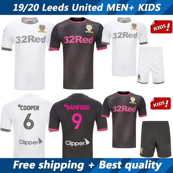 19 20 leed united occer jer ey and kid kit 2019 2020 co ta phillip roofe alio ki home away football hirt child hort leeve uniform