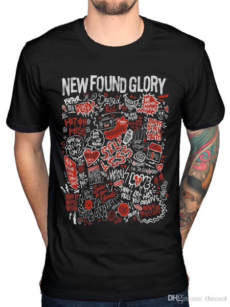 Official New Found Glory Hits T-Shirt Resurrection Coming Home Catalyst Rock