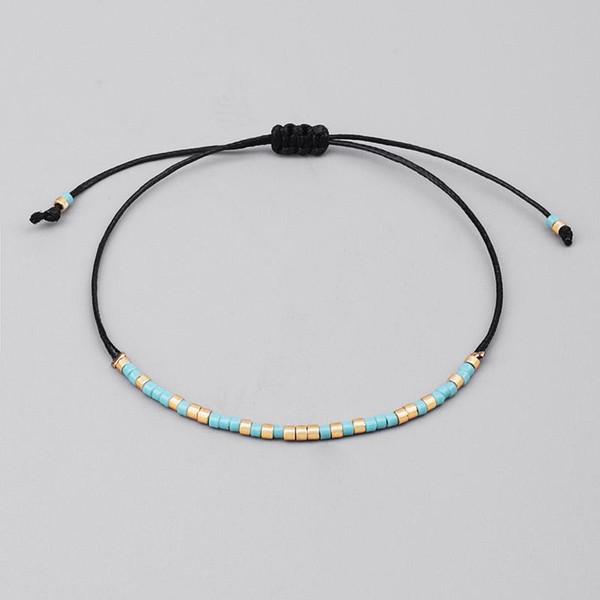 Ручной работы Миюки бисера браслет прекрасный популярные любовь счастливые браслеты браслеты для женщин мужчины смешивать цвета бисера браслеты