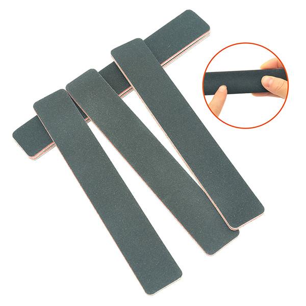 Meisha 30Pcs Nail File 100/180 Sanding Black Buffer Block for Manicure Pedicure Nail Polishing Tools Nail Art Accessory HE0017
