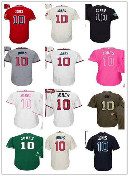best cheap 2094f acd6f 2019 Custom Atlanta Men/Women/Youth Braves 10 Chipper Jones Program Replica  Celtic Flexbase Authentic Baseball Jerseys From Sportjersey001, $18.28 | ...