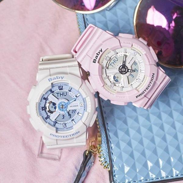Frauenarmbanduhrbabyuhr alle Funktionen Lichtmädchen ga110 LED-Uhrsportuhren mit Kastentropfenschiff