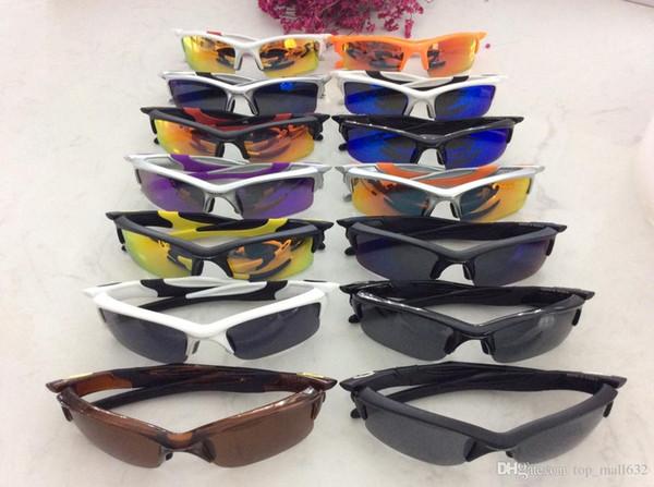 Новый оригинальный стиль Открытые очки ретро очки женщин мужских поляризатора синего гальванического Зонт очки бровь большой кадр.