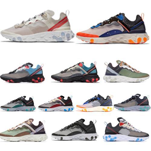 2019 Nuovo elemento di reazione di qualità 87 Undercpver x imminenti scarpe sportive da uomo di design di lusso per donna