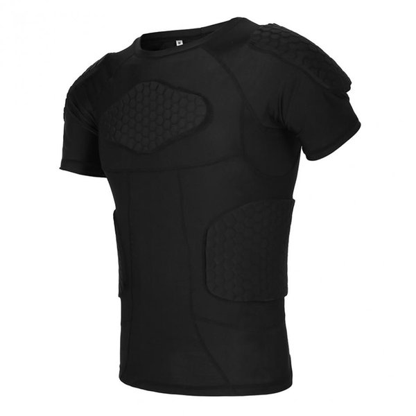1pc Anti-Collision Sponge Body Support Men Sports Vest For Basketball/Rugby Training T-shirt/Vest/Shorts 3 Types Options #134349