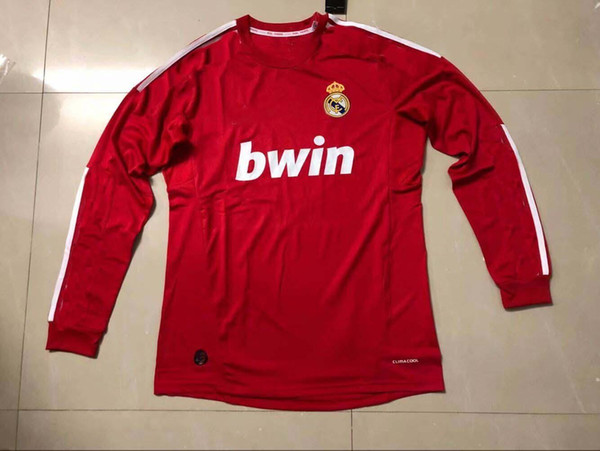 2012 long sleeve red