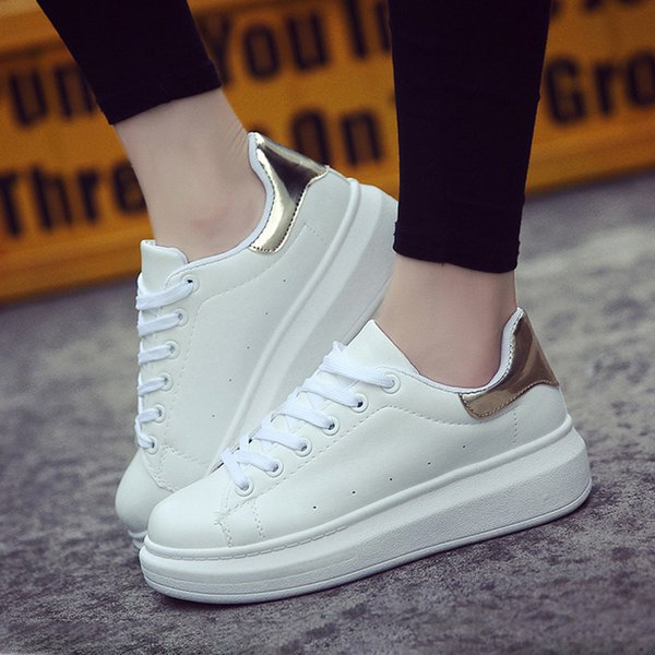Acheter 2020 Chaussures Casual Femme Sneaker Mode Femmes Blanc Plate Forme Chaussures Zapatillas Mujer Y200108 De $31.49 Du Shanye06 | DHgate.Com