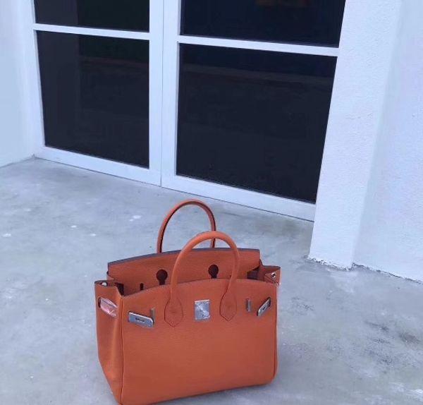 2019 Hot 35CM 30CM 25CM Big Brand Designer Totes Shoulder Bags Handbags With Lock women Lady Real Genuine leather Bags Fashion Handbag