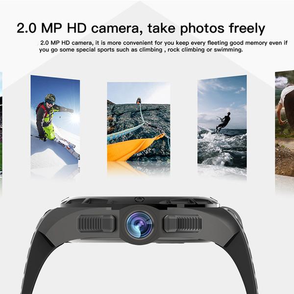 Mejor venta de cámara hd Smartwatch Teléfono Android 7.0 IP68 Reloj inteligente a prueba de agua MTK6580 Quad Core GPS 2GB 16GB 3G reloj de pulsera
