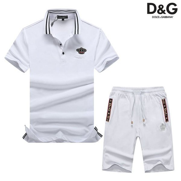 2019 Summer New Product Cotton Leisure Time Motion Suit Two Piece Set 1943012