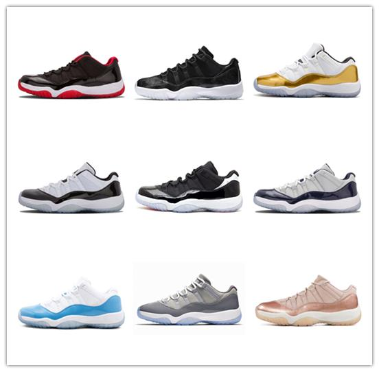 Платина Оттенок Concord 45 пром ночь XI 11s 11 Cap и платье Мужчины Женщины Баскетбол обувь разводили пространство вареньем мужские кроссовки Бесплатная доставка