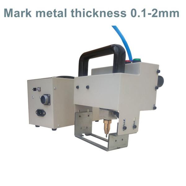 Portable Thorx6 Control Card Dot Pin Printer Handheld Metal Engraving Equipment Mini Marking Machine 8030
